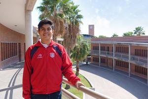 13102019 Rogelio Esaú Aguirre González representará a Coahuila en el Nacional de la 33ª Olimpiada Mexicana de Matemáticas.