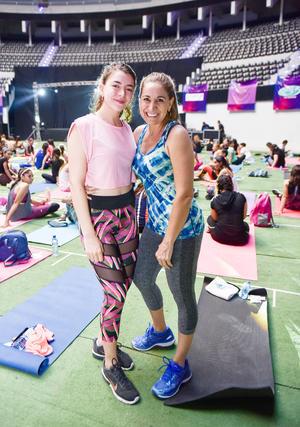 Laura Saucedo y Laura Carrete.