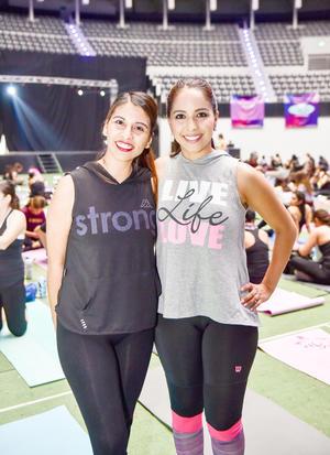Natalia y Marisol.