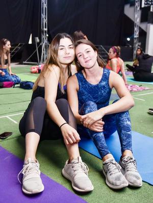 Samantha y Paulina.