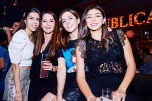 Estefy, Barbie, Fer y Marifer