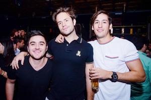 Mauricio, Alejandro y Guillermo