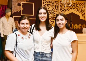 Elisa,Vero y Ximena.
