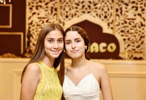 Lizeth y Tamara.
