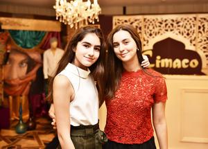 Valeria Ortiz y Paulina Murra.
