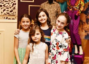 Ximena, Aurora, Romina y Eugenia.