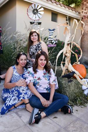 15102019 Cynthia Rodríguez, Gaby Olvera y Stephanie Hernández.