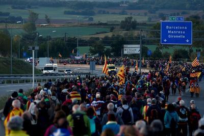 Se han movilizado 2,000 agentes para contribuir, en caso necesario, a garantizar el orden público en Cataluña.