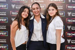 16102019 MUY GUAPAS.  Paulina Reyna, Enedelia Moran y Mónica Gilio.