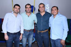 16102019 Ángel Cepeda, Ulises Nahle, Humberto Mexsen y Alberto Rosales.