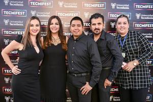 16102019 EVENTO ESCOLAR.  Lorena, Ana, Jesús, Erick y Rocío.