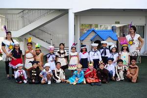 16102019 Grupo de preescolar K3D, a cargo del acto cívico.