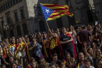 La marcha recorrió el centro de Barcelona.