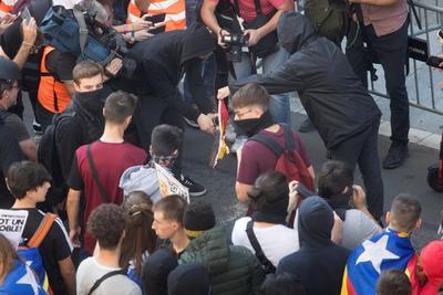 Fue convocada por el Sindicato de Estudiantes y por el Sindicat d'Estudiants dels Països Catalans.