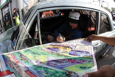En la reagrupación estará el expiloto de Fórmula Uno, Emerson Fittipaldi.