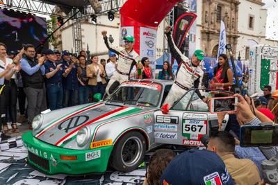 Al final el podio se quedó como estaba en la mañana, es decir no hubo movimientos.