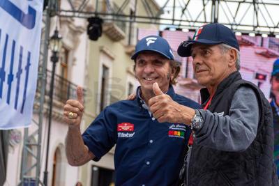 El excampeón de la Fórmula Uno Emerson Fittipaldi fue invitado especial.