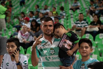afición  Santos vs Tijuana  juego correspondiente a la jornada 14 de la apertura 2019 de la Liga MX en TSM Oficial - viernes 18 de octubre de 2019 21:06h