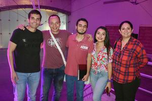 17102019 Carlos, Roberto, Carlos, Ana Laura y Laura.