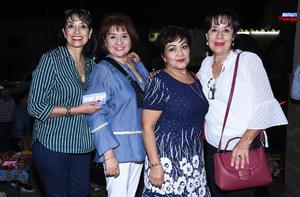 18102019 Cuquis, Margarita, Maye y Martha.