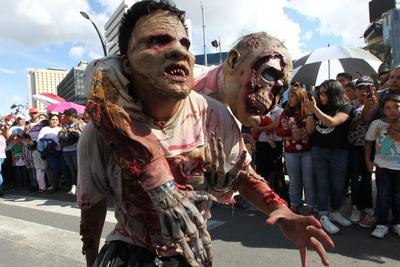 Marcha Zombie 2019, CDMX.