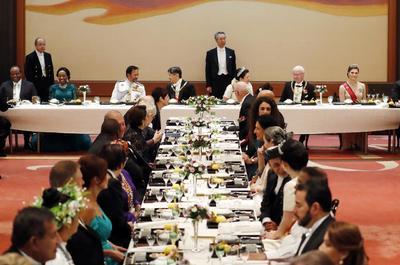 Se llevó a cabo el primero de cuatro banquetes.