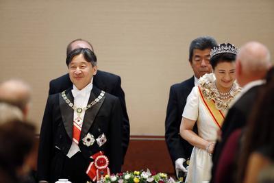 Este banquete se realizó en el Palacio Imperial.