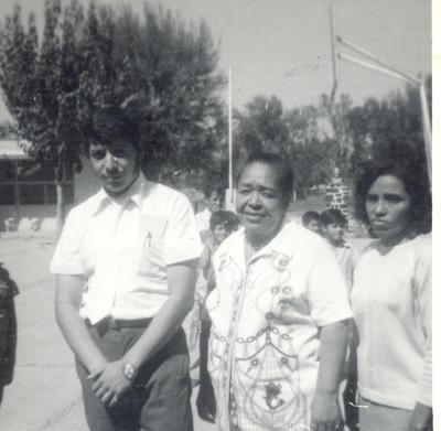 Porfirio Martínez, hace algunas décadas