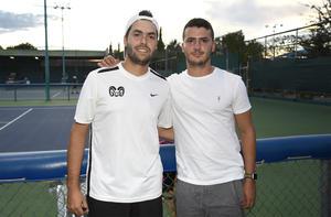 21102019 TORNEO DE TENIS.  Diego Gil y Diego González.