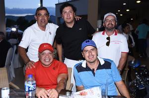 19102019 Juan Losa, Dante González, Joel Torres, Javier Lara y Armando Acosta.