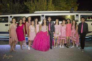 20102019 Nicole, Melissa, Mariana, Fernanda, Monse, Abril, Maritza, Vanessa, Sebastián, Vanessa, Azul, Frida y Héctor fueron sus invitados de honor y la acompañaron en el paseo.