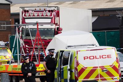 Los cuerpos se encontraron mientras se realizaba una inspección de rutina.