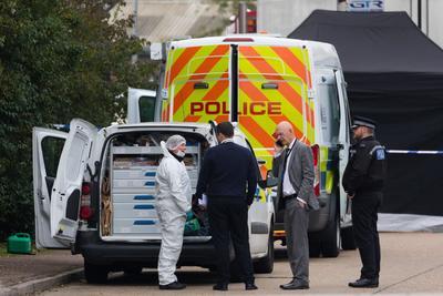 El conductor fue detenido como sospechoso de asesinato.