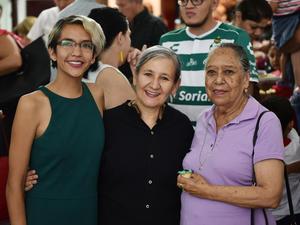 23102019 EVENTO CULTURAL.  Estefanía Marrufo, Pilar Cárdenas y Norma Huerta.