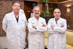 23102019 Javier Armendáriz, Alberto Pérez Canedo y Héctor Manuel Alba.
