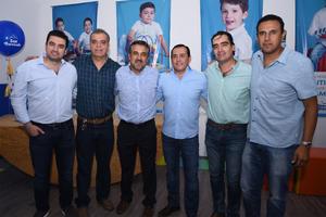 23102019 INAUGURACIóN.  Beto, Ulises, Beto, Mario, Fernando y Ángel.