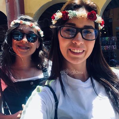 Lidia Ibarra y Dulce González.