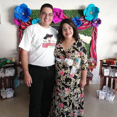 Francisco Borrego y Laura Ramírez