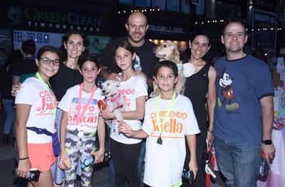 Familia Villalobos y Familia Portilla.