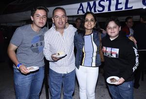 24102019 Roberto, Roberto, Dora Alicia y Emiliano.