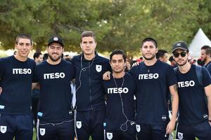24102019 Guillermo González, Fabrizio Farías, Tomás Sandoval, Aldo Haro, Mario Yerenas y Andrés Palero.