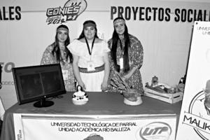25102019 Yahali Baca, Yadira Chaparro y Eunice Bustillos.