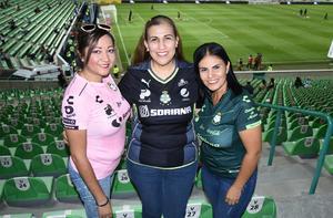 25102019 Ana Santoyo, Berenice Juárez y Lupita De La Vega.