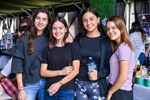 25102019 Anaelisse, Andrea, Michel y Samia.