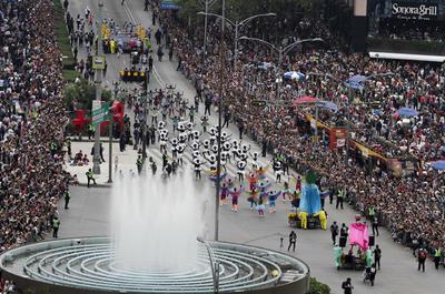 Desfile del día de Muertos de la CDMX