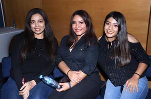 28102019 Daniela Luján, Alejandra Rodríguez y Karla Delgado.