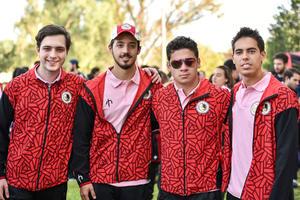 28102019 EVENTO DEPORTIVO.  Abraham, Ricardo, Manuel y Andrés.