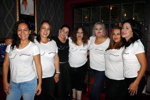 28102019 RECIENTE EVENTO.  Luly, Gina, Geovana, Cristina, Vanessa, Lizbeth y Adriana.