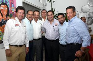 29102019 Ramón Mata, Miguel Wong, Mario Zamarripa, Fernando Menéndez, Eduardo Barteneuf, Luis Jorge Cuerda y Alberto Allegre.