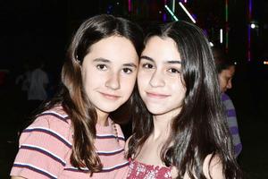 Isabela y Angela.